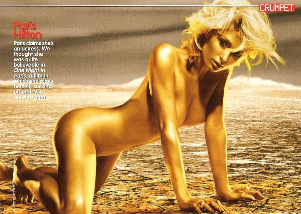 Lluvia de hilton paris desnuda