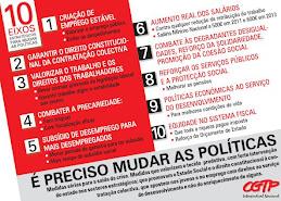 10 Eixos para Mudar de Politicas