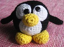 Gratis mönster till Pingvin