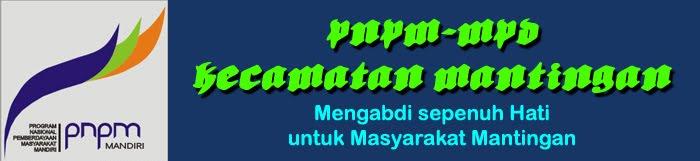 PNPM-MPd  Kecamatan Mantingan