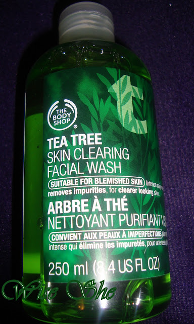 The body shop - Tea Trea Facial Wash