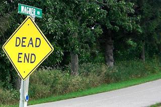 A sign? I wonder