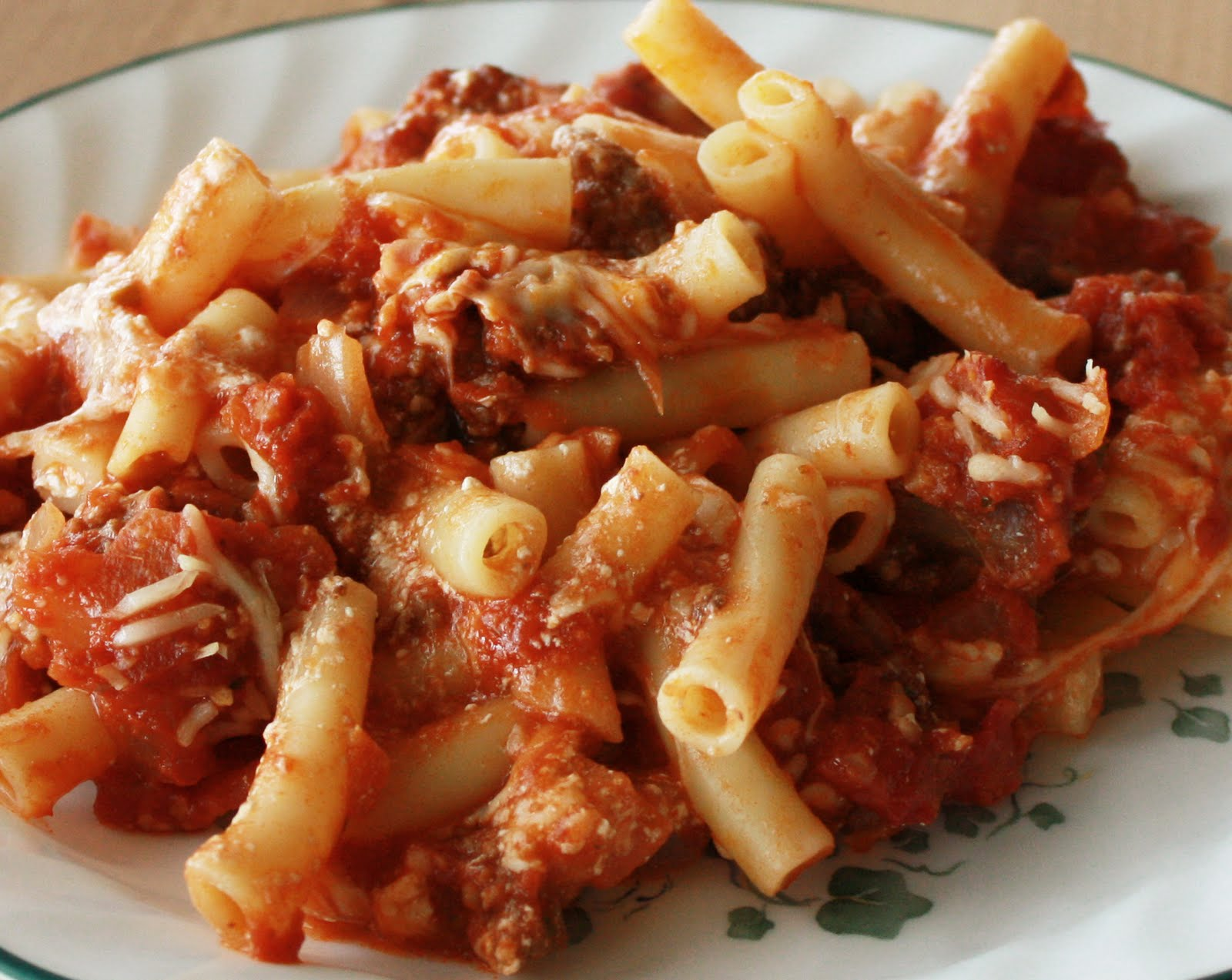 Baked Ziti I Recipe — Dishmaps