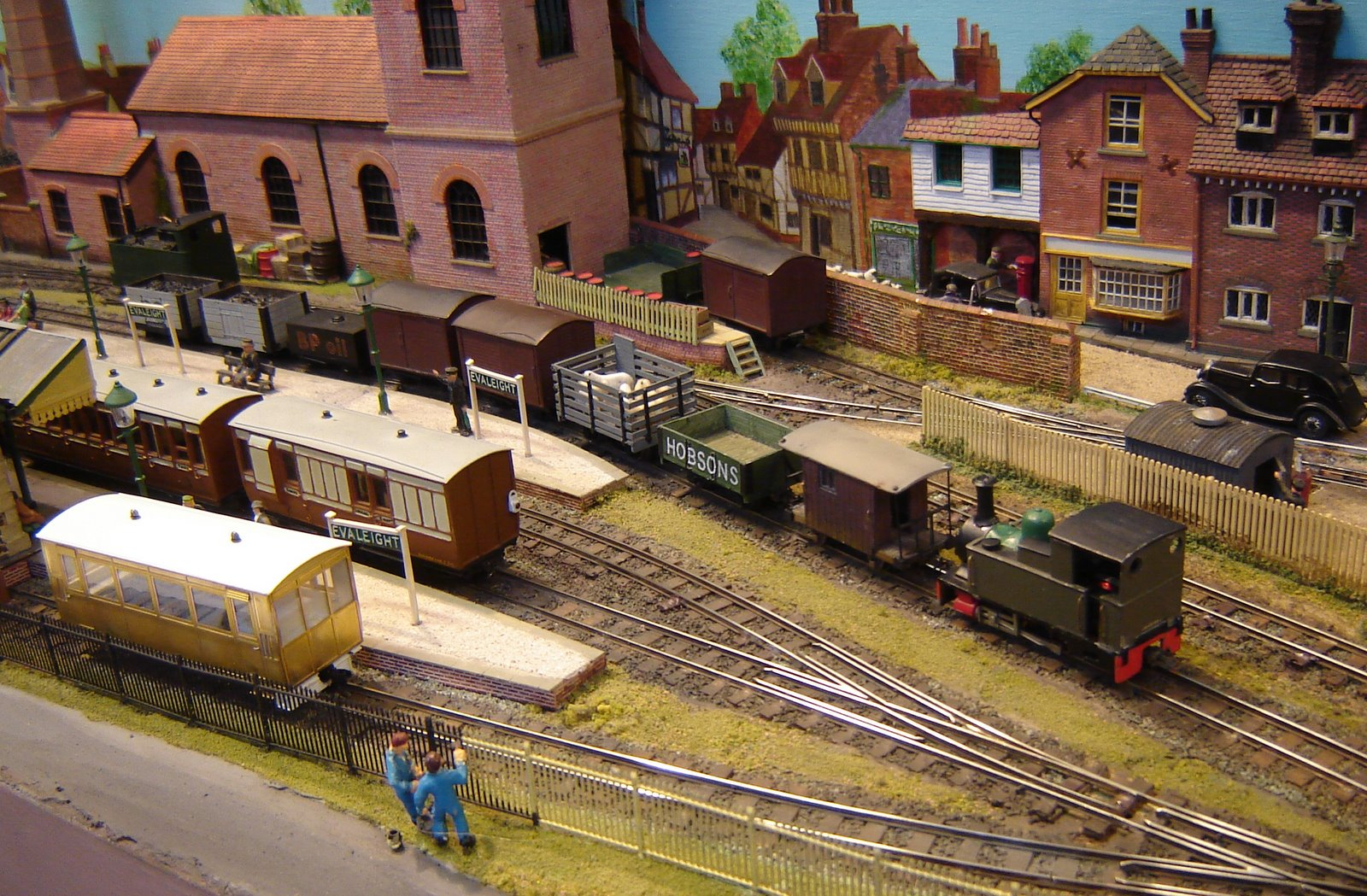 Model railway narrow gauge