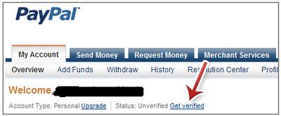 Cara deposit dengan paypal
