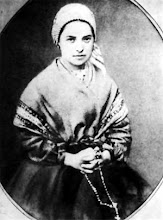 St. Bernadette in Desperation & Illness while being Homeless & Poor the Vision was Revealed