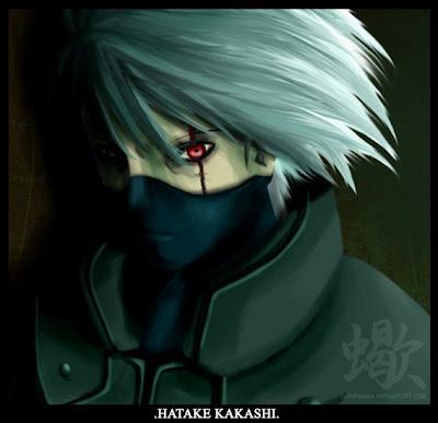 Naruto Kakashi Hatake Eyes
