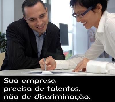 Sua empresa precisa de talentos, não de discriminação.