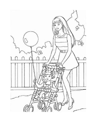 Barbie Coloring Pages: December 2008