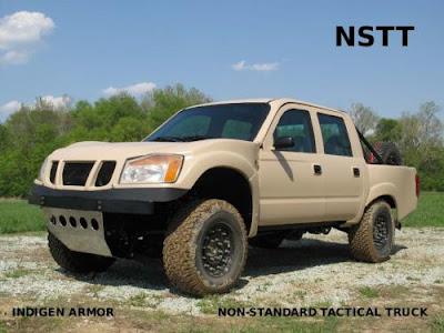 CAR AU  Indigen Armor Unveils Extreme Off Road Defense cars
