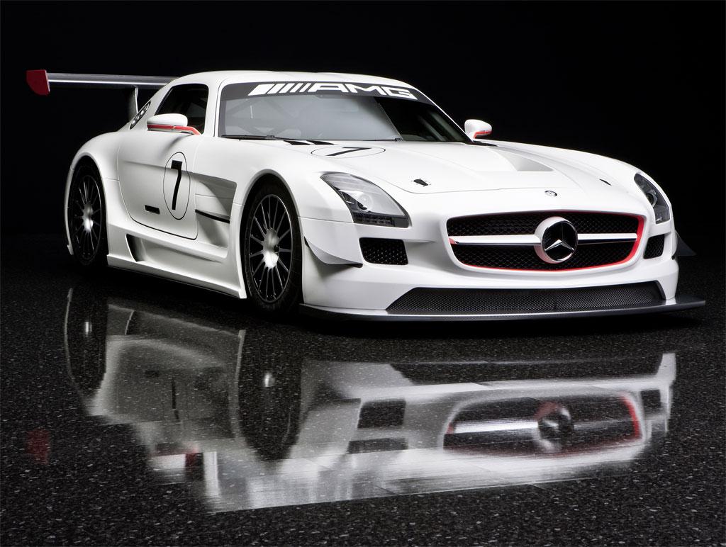 The 2011 Mercedes SLS AMG GT3