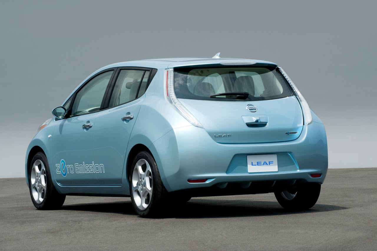 Nissan Leaf Wins Award For European Car Of The Year