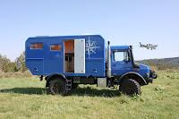 Mercedes Unimog U 4000 Camper