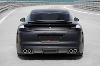 Porsche Panamera Stingray by TopCar, carbon gray color,