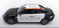 Carbon Motors E7 police car