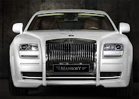 MANSORY Rolls Royce Ghost White
