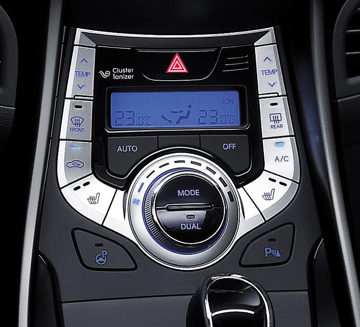 Benz Mercedez 2011 Hyundai Elantra Interior Revealed