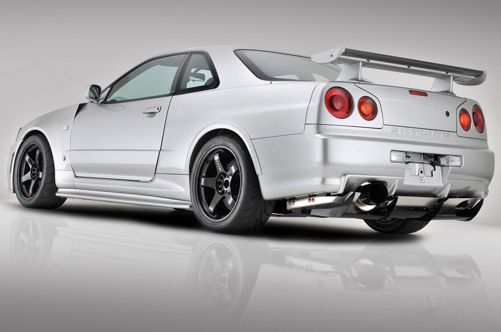 nissan skyline r34 fast and furious 4. The JAPO Nissan Skyline R34