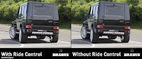 Mercedes G Class BRABUS Ride Control