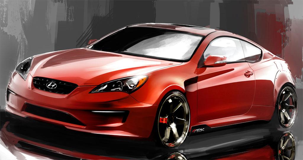 SEMA Show: ARK Hyundai Genesis Coupe
