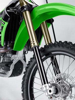 New Kawasaki KX450F