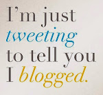 Tweet about blog