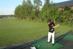 Seu hobby: golf