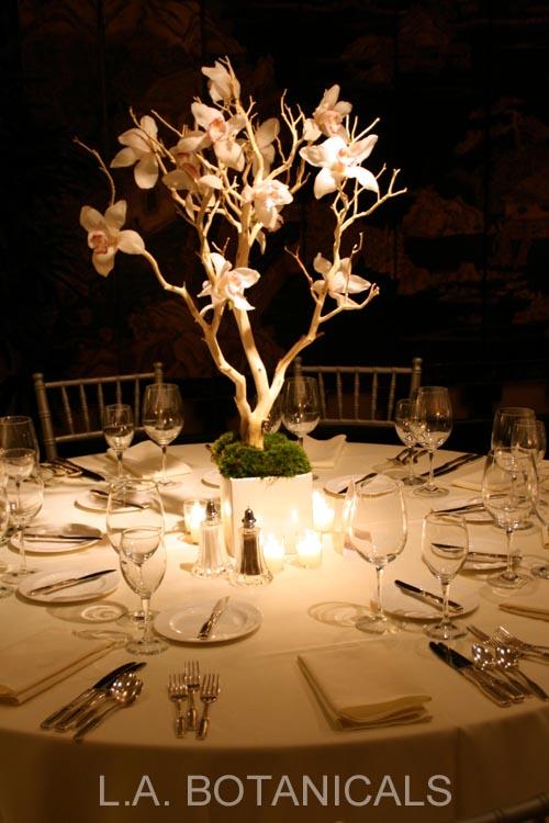 Branches centerpieces manzanita flower