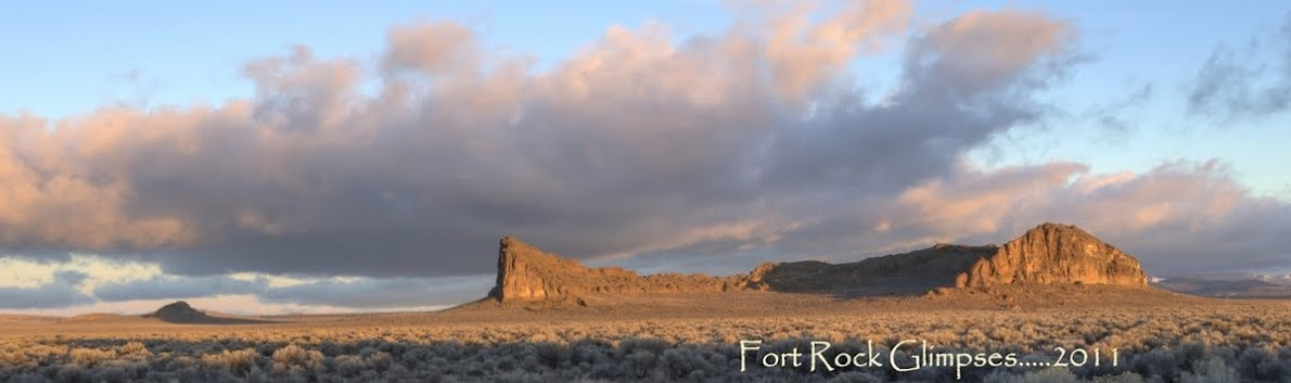 Fort Rock.....Glimpses