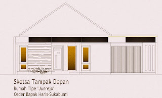 Model Rumah Kebun on Punya Rumah   Kolam Pembibitan Ikan  Sketsa Rumah Tipe  Junrejo  Di
