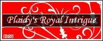 Plaidy's Royal Intrigue Blog