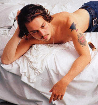 Johnny Depp: more tattoos, because you asked!