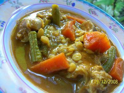 Nasi Briyani, Ayam Masak Merah, Daging Masak Merah berempah Ala Utara