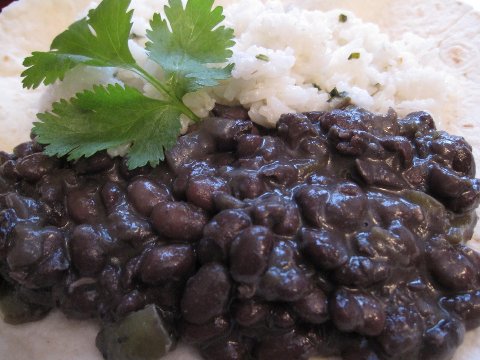 Black Beans (Frijoles Negros) Recipe — Dishmaps