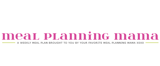 Meal Planning Mama