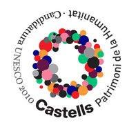 Logo Castells Patrimoni inmaterial de la humanitat