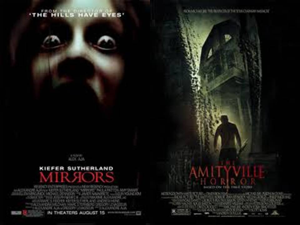 the posters which inspired us the most were halloween and friday the 13th as they are simple posters which include a main image and the name of the film