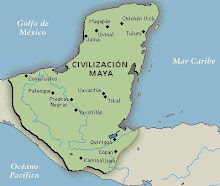 Mapa del área Maya