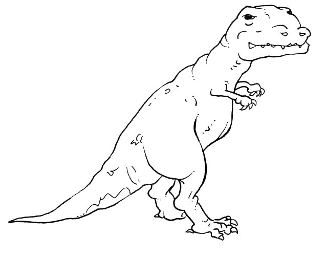 Image Result For T Rex Coloring Page Jur Ic Park