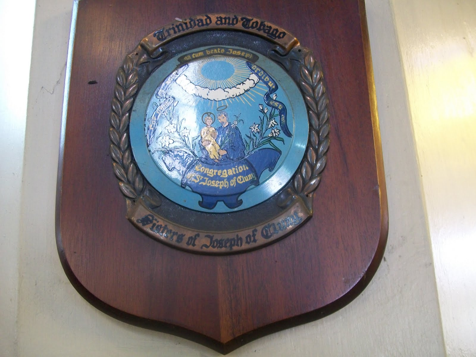 Caribbean catholic shields at the cathedral of the - St joseph convent port of spain trinidad ...