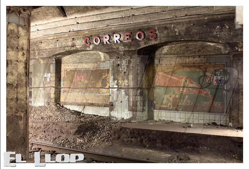 Red ferroviaria de barcelona la estaci n fantasma de for Oficina de correos barcelona