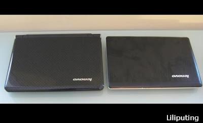 Lenovo IdeaPad S12 vs IdeaPad U150