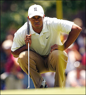 Tiger Woods in Ridgewood Country Club Tournament