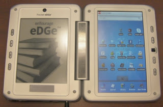 Entourage Pocket Edge Dual Screen E-Reader Photo
