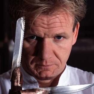 Gordon Ramsay of Hells Kitchen Photo