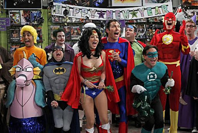 The Big Bang Theory Season 4 Episode 11 - The Justice League Recombination