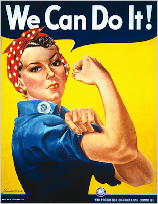 Remembering Geraldine Hoff Doyle as Rosie the Riveter