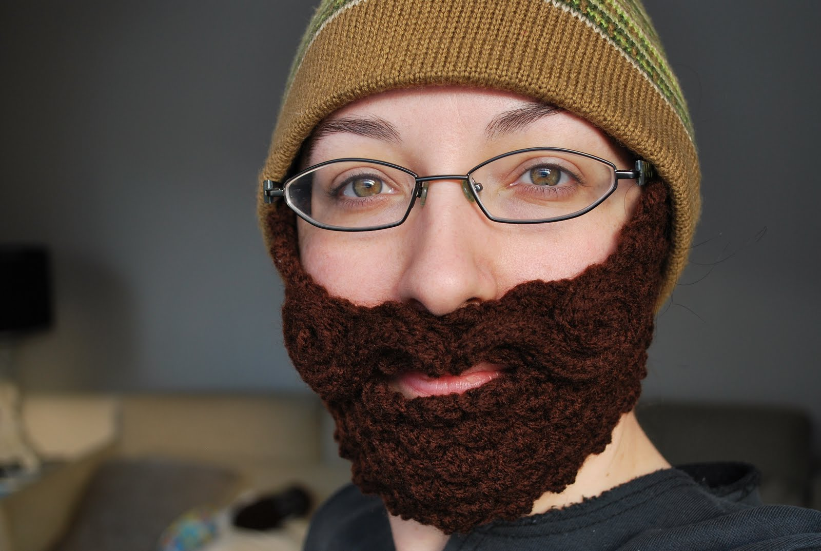 Knit Beard Pattern : Merlot Decants: So I Made a Couple of Beards