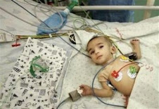 mangsa kezaliman di Gaza.Kanak-kanak kecil menjadi mangsa.