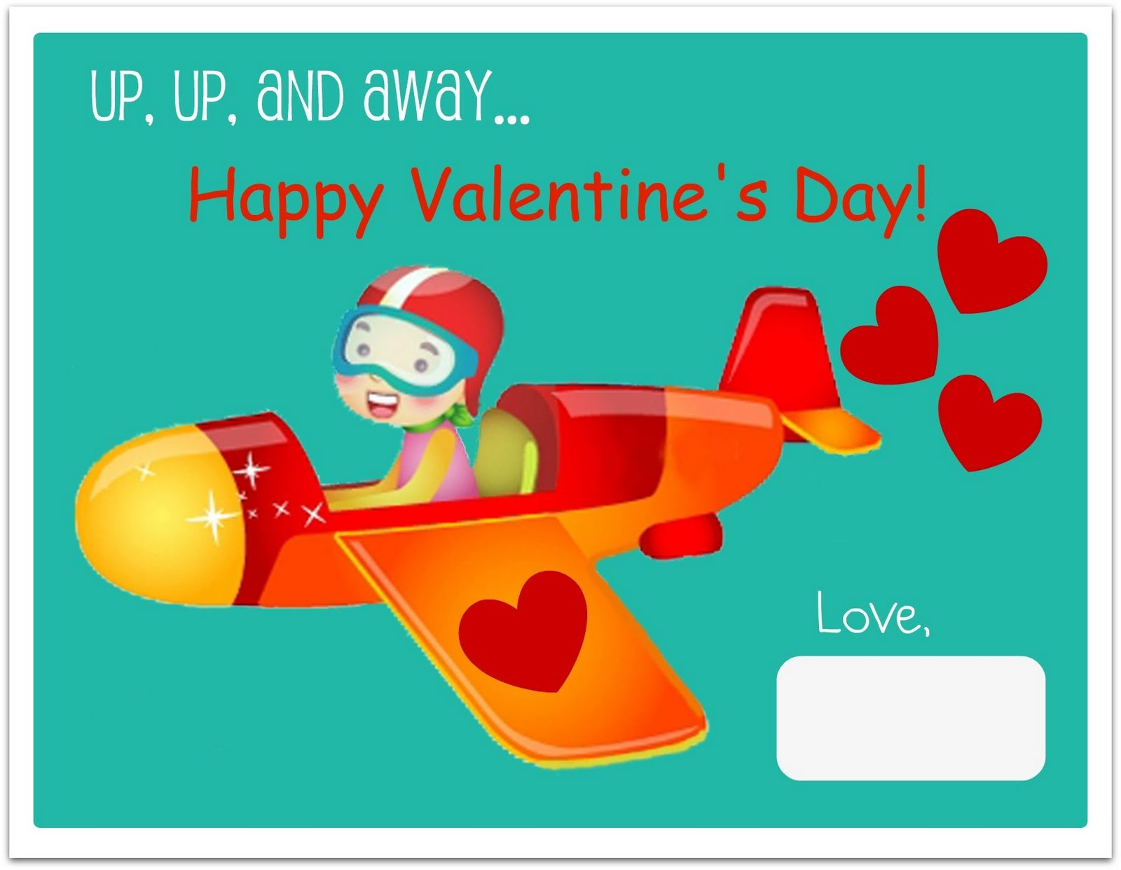 FREE Printable Valentines Day Cards – Valentines Card Free